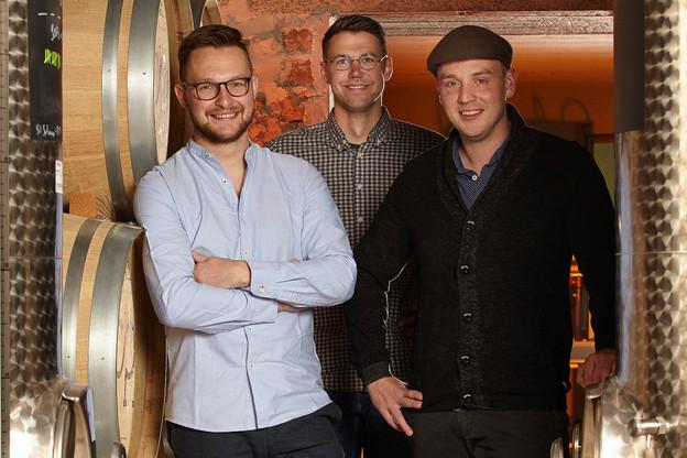 Jim Wagener, Fränk Wagner, Michel Schammel: les fondateurs de OPYOS Beverages. (Photo:OPYOS Beverages)