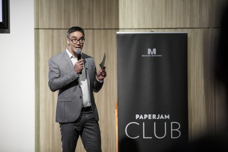 Julien Delpy, directeur du Paperjam Club, raconte comment il se réinvente en période de confinement. (Photo: Maison Moderne Publishing SA)