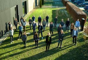 Le bureau Fabeck Architectes a connu une croissance constante et rassemble désormais une équipe de 28 personnes. ((Photo: Andrés Lejona / Maison Moderne))