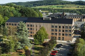 Le lycée technique pour professions de santé, Ettelbruck est un projet pilote mené par l'Administration des bâtiments publics. ((Photo: Christian Aschman))