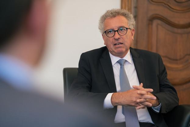 La sortie de crise «va jouer un rôle sur la quantité et la durée d'un nouveau paquet d'aides que nous pourrions apporter», souligne PierreGramegna quant à d'éventuelles nouvelles mesures décidées au niveau luxembourgeois.  (Photo: archives Paperjam)