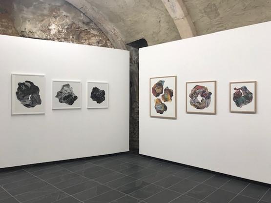 Vue de l'exposition de Lisa Rukavina à la Valerius Art Gallery. (Photo: Paperjam)