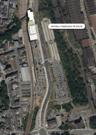 Emplacement du futur commissariat de Differdange. ((Illustration: Ville de Differdange))