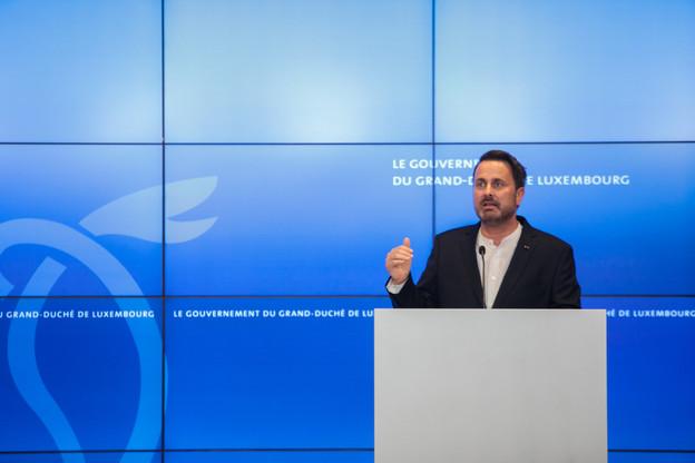Le premier ministre Xavier Bettel a notamment annoncé des mesures fiscales pour inciter les propriétaires à baisser les loyers. (Photo: Matic Zorman / Maison Moderne)