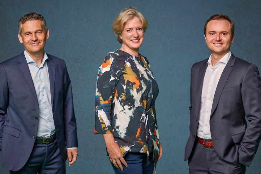 Le trio désormais à la tête de la présidence de l'Alco. (Photo: Alco)