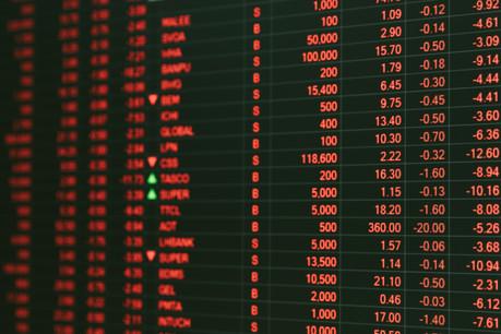 La Bourse de Paris a terminé à -5,75%, celle de Londres à -4,71%, celle de Francfort à -5,31%. (Photo: Shutterstock)