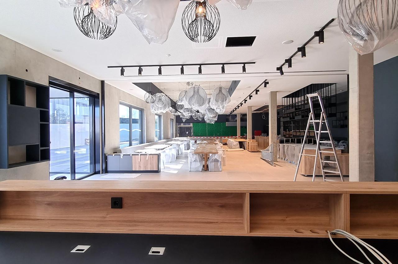 Les dernières finitions sont apportées en ce moment même, à deux semaines de l'ouverture du prochain hôtel du groupe Meliá à Luxembourg. INNSiDE by Meliá