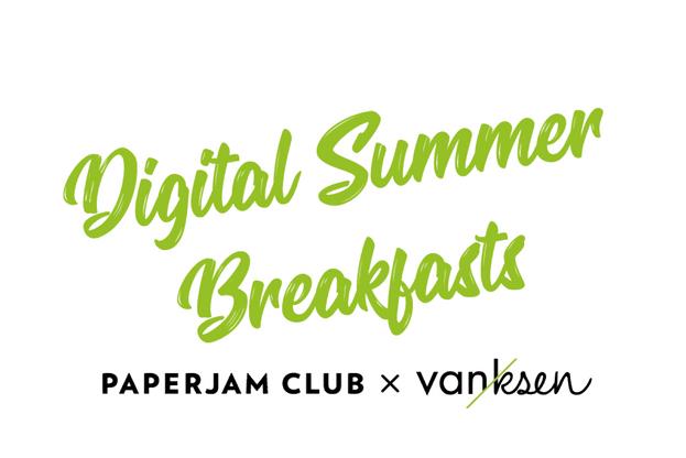 Vanksen et le Paperjam Club lancent les Digital Summer Breakfasts. (Illustration: Maison Moderne)