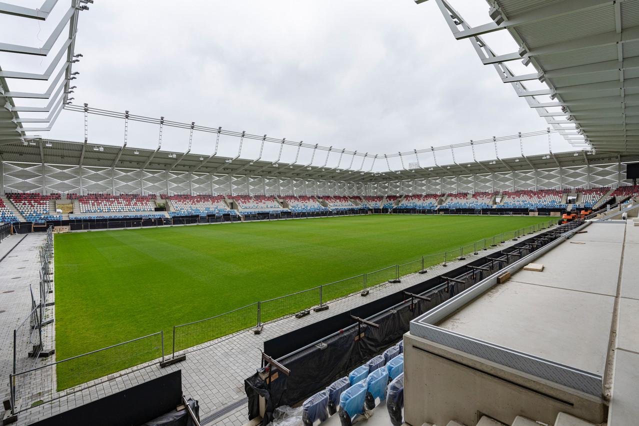 La star portugaise Cristiano Ronaldo sera-t-elle parmi les premiers joueurs à fouler le gazon du nouveau stade? (Photo: Caroline Martin)