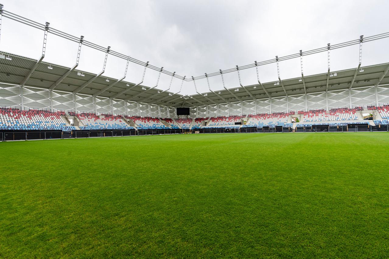 Un événement test devrait être organisé en juillet, deux mois avant le jour J du match contre l'Azerbaïdjan. (Photo: CarolineMartin)