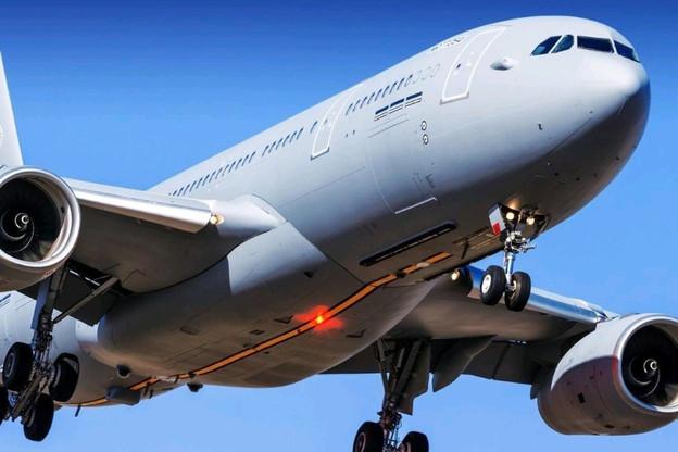 Le nouvel A330, commandé ce lundi, est la conséquence du passage, par le Luxembourg, de 200 à 1.200heures de vol par an contre un investissement supplémentaire de 426,4millions d'euros. (Photo: Otan)