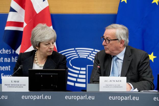 Le président de la Commission européenne, Jean-Claude Juncker (ici à Strasbourg le 11 mars), ne cache plus son impatience face aux difficultés de Theresa May. (Photo: Commission européenne/services audiovisuel)