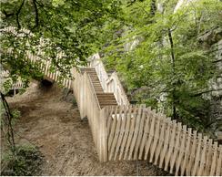 Vue du nouvel escalier. ((Photo: Witry & Witry))