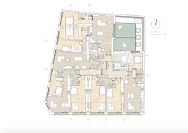 Plan du premier étage. ((Illustration: Dagli+))