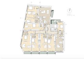 Plan du quatrième étage. ((Illustration: Dagli+))