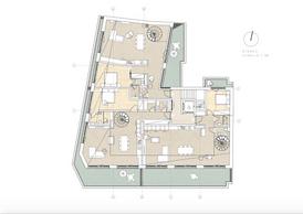 Plan du cinquième étage. ((Illustration: Dagli+))