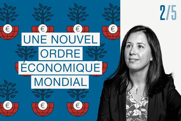 Sanela Kevric, Sales Director chez Fidelity International Crédit: montage Maison Moderne