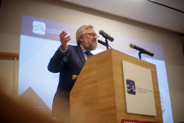 Jean-Claude Reding devrait céder son poste de président lors de la prochaine assemblée constitutive. Sans doute à Nora Back. (Photo: Matic Zorman / Archives)