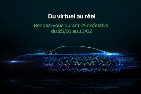 Du virtuel au réel – Rendez-vous durant l'Autofestival du 25/01 au 13/02 (Photo: FEDAMO)