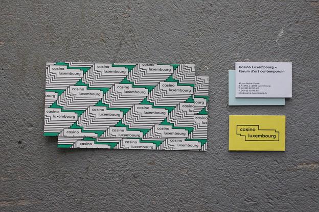 La nouvelle identité graphique du Casino Luxembourg est réalisée par Bunker Palace. (Photo: Casino Luxembourg)