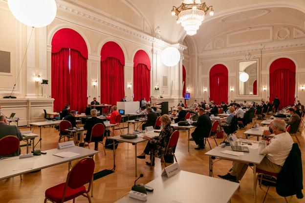 Le vote à la Chambre a eu lieu samedi, peu avant 13h. (Photo: Romain Gamba/Maison Moderne/Archives)