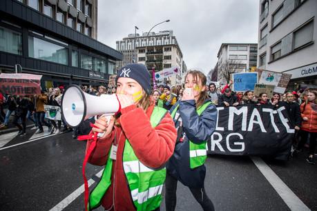 Comme lors de la mobilisation du 15 mars dernier, les organisateurs de la marche pour le climatattendent entre 7.000 et 15.000 manifestants. (Photo: Nader Ghavami / Archives)