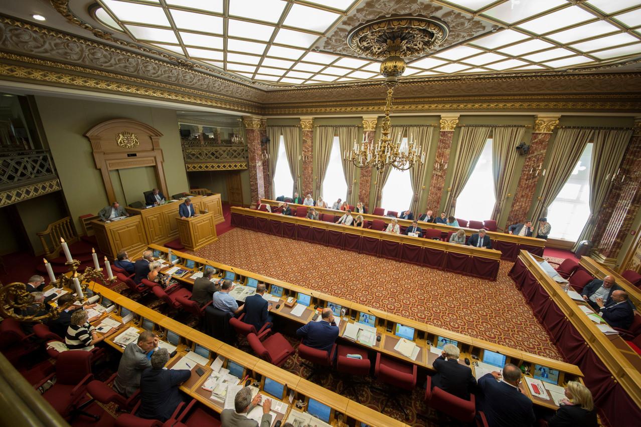 Sur les 60députés, 57 ont voté en faveur de la prolongation. Seuls les députésdéi Lénk ont voté contre . (Photo: archives Maison Moderne)