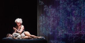 «Chambre noire», une proposition mêlant théâtre visuel, marionnettes et vidéo. ((Photo: Stas Levshin))