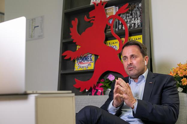 Xavier Bettel a répété vouloir continuer à éviter un scénario dans lequel le Luxembourg ne serait plus en mesure de soigner tous les malades. (Photo: Matic Zorman)