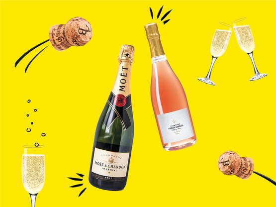 En Champagne, les bulles se font plus indépendantes, plus internationales et toujours plus vertes. (Design : Eva Pontini / MAison Moderne)
