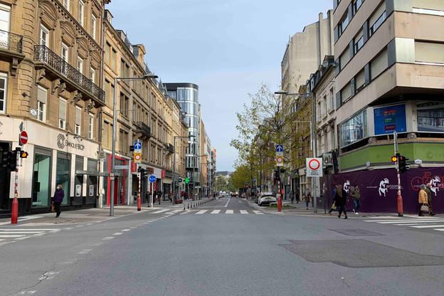 Chaussures Goedert et Z s'ajouteront bientôt à la liste des cellules vides dans l'avenue de la Gare. (Photo: Paperjam)