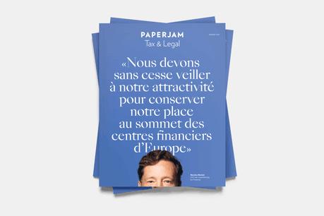 Le supplément Tax & Legal accompagne le magazine Paperjam de janvier 2021. (Photo: Maison Moderne)