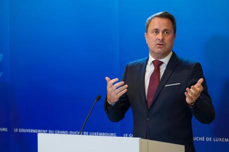 Pour le Premier ministre, Xavier Bettel, les indicateurs n'impliquent pas encore de prendre de nouvelles mesures. (Photo: SIP/Jean-Christophe Verhaegen)