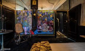 L'art s'invite également dans les chambres. ((Photo: Georges Waringo))