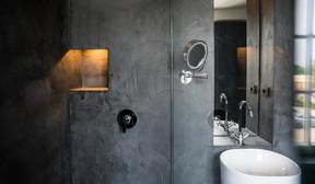 Vue de la salle de bains de la chambre «Tribute». ((Photo: Georges Waringo))