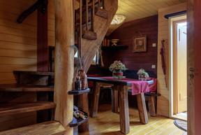 Une déco toute de bois dans ces cabanes. ((Photo: Escher bamhaiser))