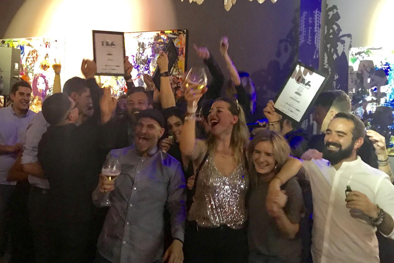 Ambiance survoltée et prix en série lors de la 8e édition des Luxembourg Nightlife Awards. (Photo: Paperjam)