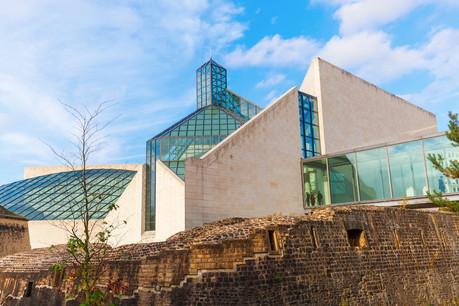 Le Mudam fait partie des sept musées du groupement d'stater muséeën qui organisent conjointement depuis 2001 la Nuit des musées, dont la 20eédition ne pourra pas avoir lieu. (Photo : Shutterstock)