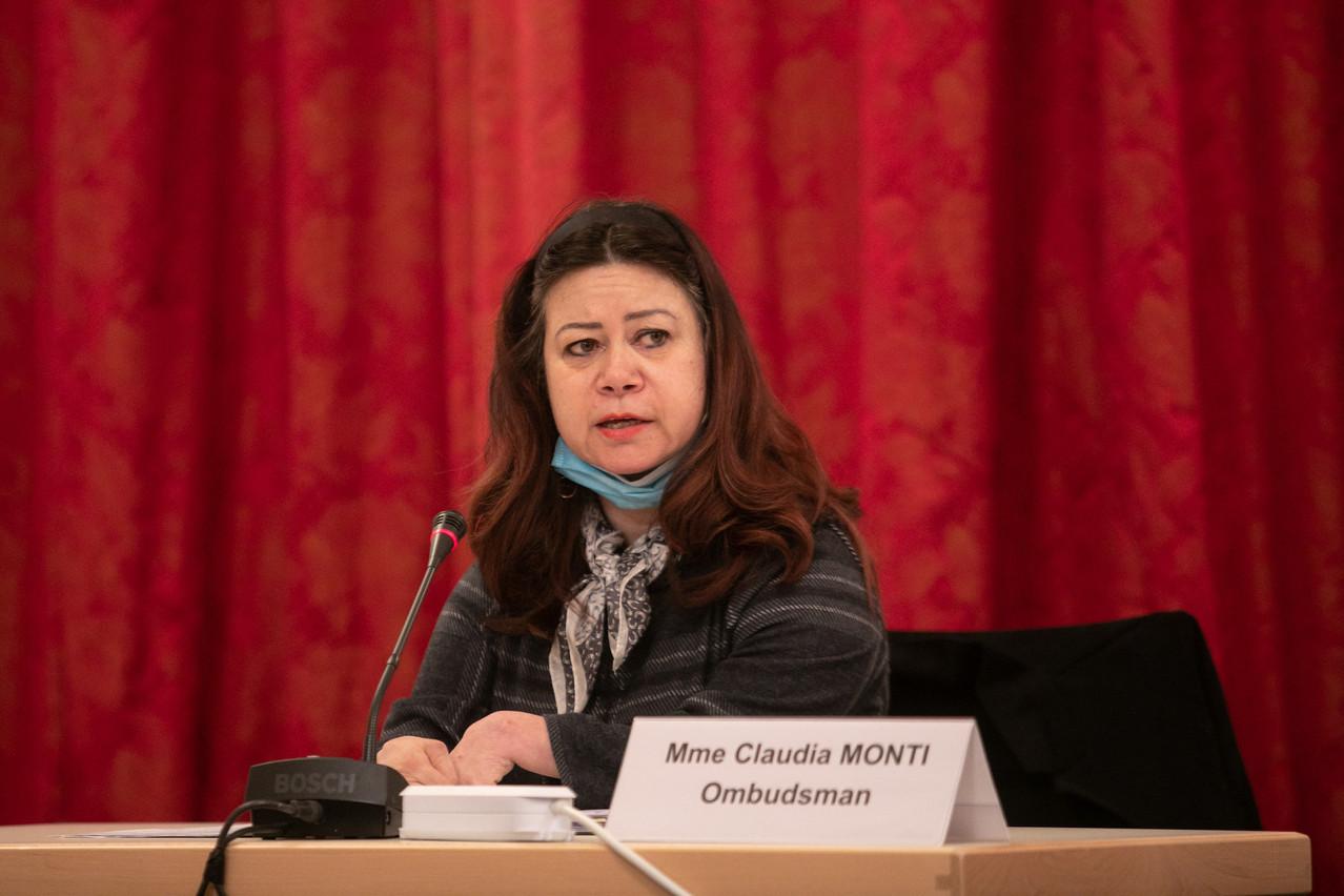 L'Ombudsman, ClaudiaMonti, a appelé le gouvernement à davantage d'efforts pour que la digitalisation des services publics ne laisse personne au bord de la route. (Photo: Matic Zorman)