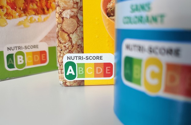 Le logo Nutri-Score permet au consommateur de comparer en un coup d'œil les produits d'une même catégorie, notammentla qualité nutritionnelle des aliments. (Photo: Paperjam)