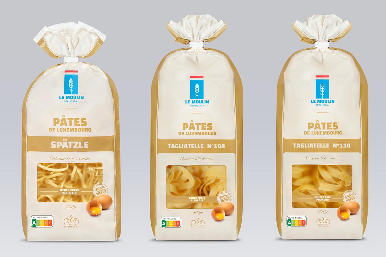Les Moulins de Kleinbettingen ont adopté le Nutri-Score pour leurs pâtes, avant de l'appliquer à leurs farines. (Photo: Moulins de Kleinbettingen)