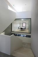 Vue de l'intérieur du bâtiment, un des lieux potentiels de l'œuvre. ((Photo: Bohumil Kostohryz))