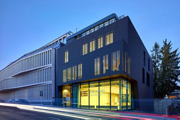 Le siège de l'OAI accueillera prochainement une œuvre d'art conçue spécifiquement pour ce lieu. (Photo: Christof Weber)