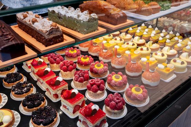 Oberweis veut se distinguer de la concurrence locale avec des petites pâtisseries mais aussi des macarons et des chocolats (Photo: Oberweis)