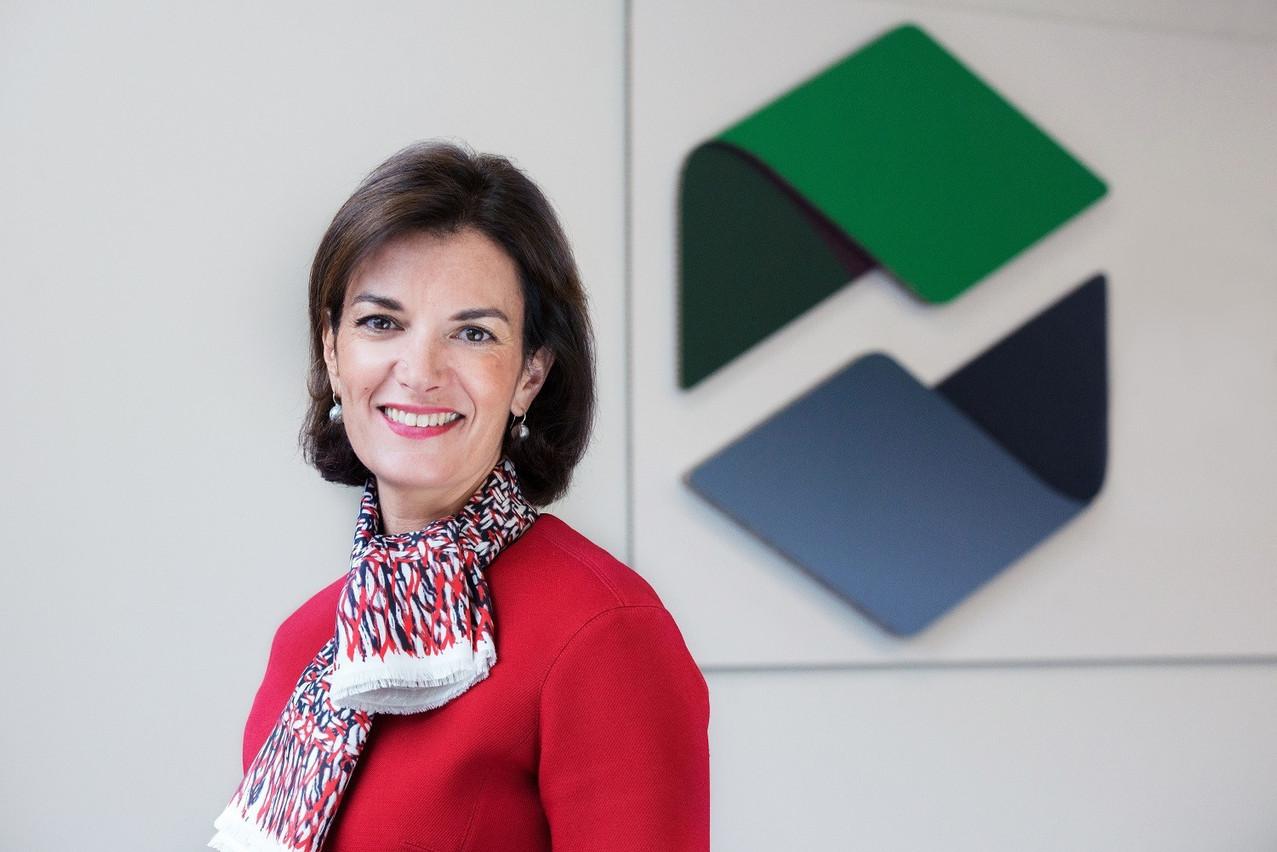 Julie Becker, la directrice générale adjointe de LuxSE et fondatrice du LGX, s'est félicitée que cette obligation verte dédiée au rail européen soit cotée au Luxembourg. (Photo: Bourse de Luxembourg)