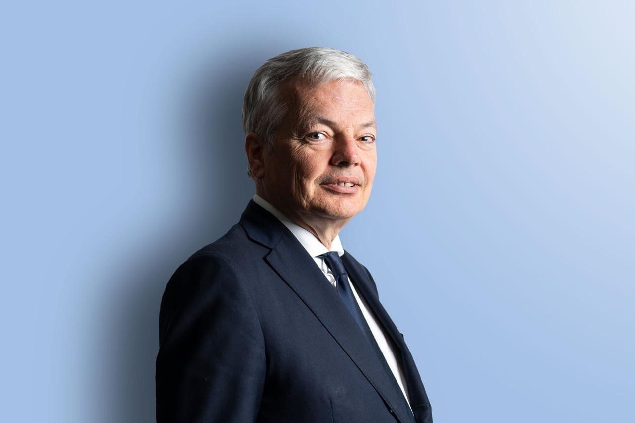 Didier Reynders, commissaire européen à la Justice. (Photo: Anthony Dehez)