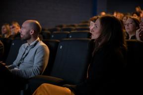 Nik Speller (Influencer.com) et Nora Vanderschrick (DPG Media Advertising) ((Photo: Jan Hanrion))