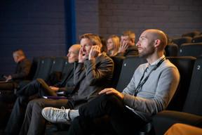 Julien Henky (Bil), Michaël Mertens (Bil) et Nik Speller (Influencer.com) ((Photo: Jan Hanrion))