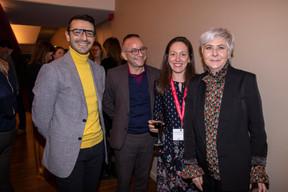 Richard Karacian, Francis Gasparotto et Emmanuelle Thivollard (Maison Moderne) ((Photo: Jan Hanrion))