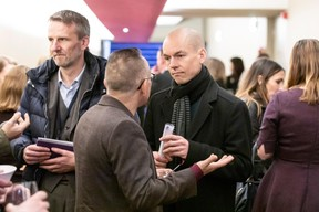 Michaël Mertens (Bil), Francis Gasparotto (Maison Moderne) et Julien Henky (Bil) ((Photo: Jan Hanrion))